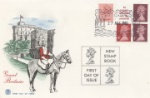 Windsor Castle New Stamp Book