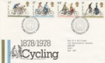 Cycling Centenaries Post Office Covers