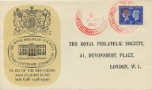 06.05.1940 Postage Stamp Centenary Lancaster House Royal Philatelic Society