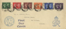 06.05.1940 Postage Stamp Centenary King George VI Royal Cypher