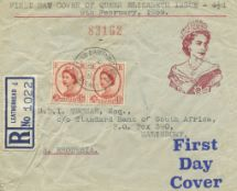 09.02.1959 Wildings: 4 1/2d Brown New Postage Rate
