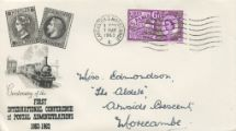07.05.1963 Paris Postal Conference French Railway