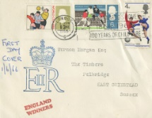 01.06.1966 World Cup Football Royal Cypher