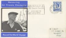 24.07.1967 Sir Francis Chichester Round the World Voyage Wessex