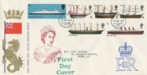 15.01.1969 British Ships Seahorse and Flag Royal Mail/Post Office