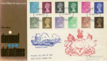 15.02.1971 Machins: Decimal Values New Definitive Low Values Royal Mail/Post Office