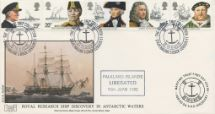 16.06.1982 Maritime Heritage Royal Research Ship Discovery in Antarctic Waters Havering