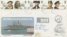 16.06.1982 Maritime Heritage HMS Invincible Sails for the Falklands Pres. Philatelic Services
