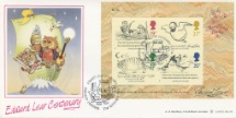 27.09.1988 Edward Lear: Miniature Sheet The Owl and the Pussycat Bradbury, LFDC No.72