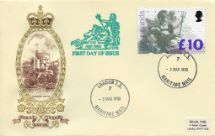 02.03.1993 Britannia: £10 Windsor Castle Philart, Delux No.0