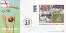06.10.2005 Cricket: Miniature Sheet England - Birthplace of Cricket Bradbury, Sovereign No.70