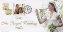 29.04.2011 Wedding Day Cover No.3 The Royal Bride Bradbury, BFDC No.130