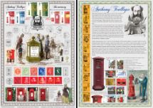 24.04.2015 Anthony Trollope [Commemorative Sheet] Bicentenary of Anthony Trollope Bradbury, Commemorative Stamp Card No.5