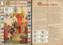 02.06.2015 Magna Carta King John Grants Magna Carta Bradbury, Commemorative Stamp Card No.6