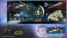 17.12.2015 PSB: Star Wars Double-dated Star Wars Cover 2 Royal Mail/Post Office