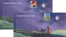 03.11.2015 Christmas 2015 Christmas Insert Cards Royal Mail/Post Office