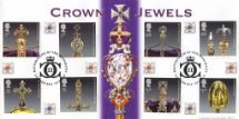 23.08.2011 The Crown Jewels The Sovereign's Sceptre Bradbury, BFDC No.121