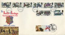 14.10.2016 Battle of Hastings [Commemorative Sheet] Double Dated Cover