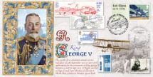 17.02.2016 Royal Mail Heritage George V - First Air Mails Bradbury, BFDC No.361