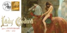 10.09.2017 Lady Godiva 950th Anniversary Bradbury, BFDC No.455