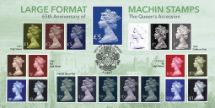 06.02.2017 65th Anniversary of Queen's Accession Large Format Machin Stamps Bradbury, BFDC No.415