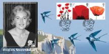 20.03.2017 Forces Sweetheart Celebrating Dame Vera Lynn 100 Years Bradbury, BFDC No.430