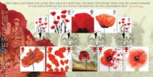 13.09.2018 The Great War The Complete Poppy Collection Bradbury, BFDC No.528