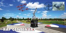 10.07.2018 RAF Centenary RAF War Memorial Alrewas Bradbury, BFDC No.509