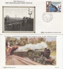 10.05.1988 Transport Caledonian TPO Benham, Travelling Post Office No.5
