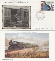 10.05.1988 Transport East Anglian TPO Benham, Travelling Post Office No.20