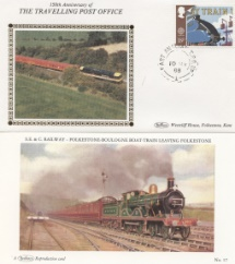10.05.1988 Transport East Anglian TPO Up Benham, Travelling Post Office No.22