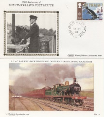 10.05.1988 Transport EA TPO Up Benham, Travelling Post Office No.23