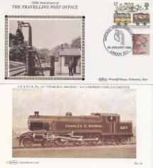 10.05.1988 Transport TPO 150th Anniversary Benham, Travelling Post Office No.32