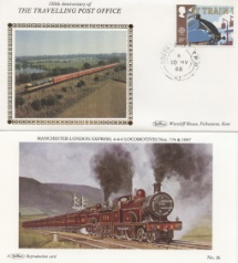 10.05.1988 Transport South Wales TPO Benham, Travelling Post Office No.39