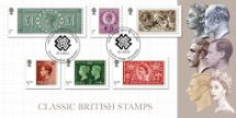 15.01.2019 Stamp Classics: Miniature Sheet Six Reigns Bradbury, BFDC No.545