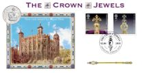 02.06.2019 Crown Jewels The Tower of London Bradbury, BFDC No.589