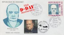 06.06.2019 D-Day Double-dated Churchill cover
