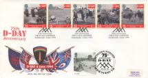 06.06.2019 D-Day 50th/75th Anniversaries Double Dated Royal Mail/Post Office
