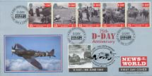 06.06.2019 D-Day 50th/75th Anniversaries Double Dated CoverCraft