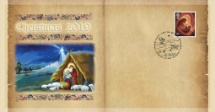 05.11.2019 Christmas 2019 Single Value Cover Bradbury, BFDC No.618