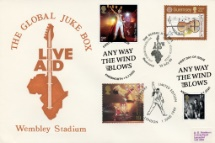 09.07.2020 Queen Live Aid Triple Dated Cover Bradbury
