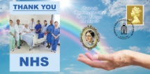 12.05.2020 Thank You NHS Bicentenary of Florence Nightingale Bradbury, BFDC No.658