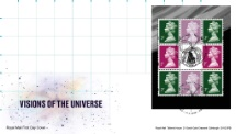 11.02.2020 PSB: Visions of the Universe - Pane 4 Visions of the Universe Royal Mail/Post Office