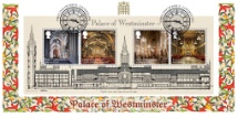 30.07.2020 Palace of Westminster: Miniature Sheet Architect's Drawing Bradbury, BFDC No.670
