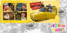 16.02.2021 Only Fools and Horses: Miniature Sheet Robin Reliant Bradbury, BFDC No.739