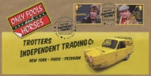 16.02.2021 Only Fools and Horses: Generic Sheet Robin Reliant with  Rodney and Del Boy Bradbury, BFDC No.739
