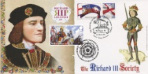 04.05.2021 Wars of the Roses Richard III Reconstructed Face Bradbury, BFDC No.0