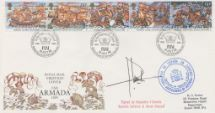19.07.1988 Spanish Armada Forces Signed Royal Mail/Post Office