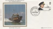 16.06.1982 Maritime Heritage RAF Marine Branch Benham, Small Silk Maritime Collection No.12