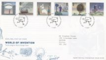 01.03.2007 World of Invention Special Handstamp Royal Mail/Post Office
